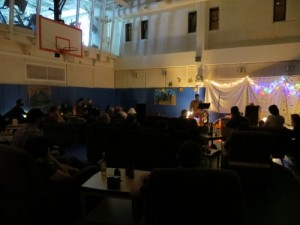 Open Mic Night, South Pole, November 2012.