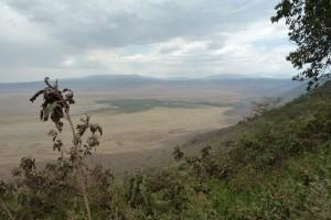 The Ngorongoro Crater.