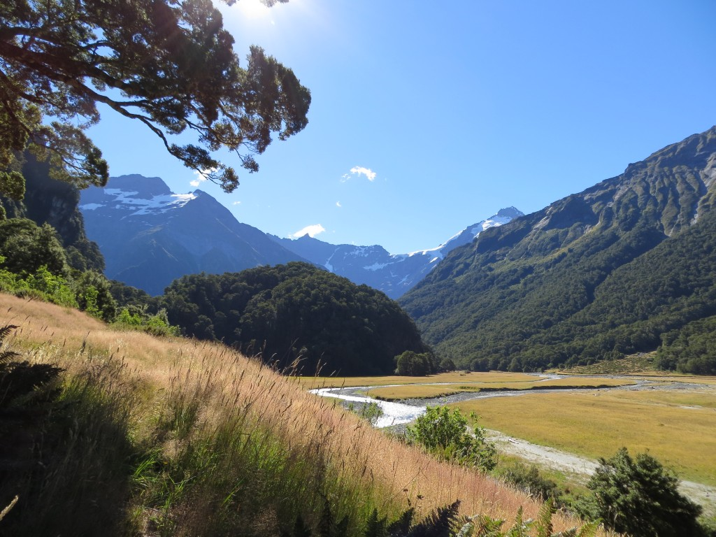 Steep mountains, glaciers, beautiful forests and crystal clear rivers everywhere.
