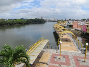 Malecón Salado in Guayaquil