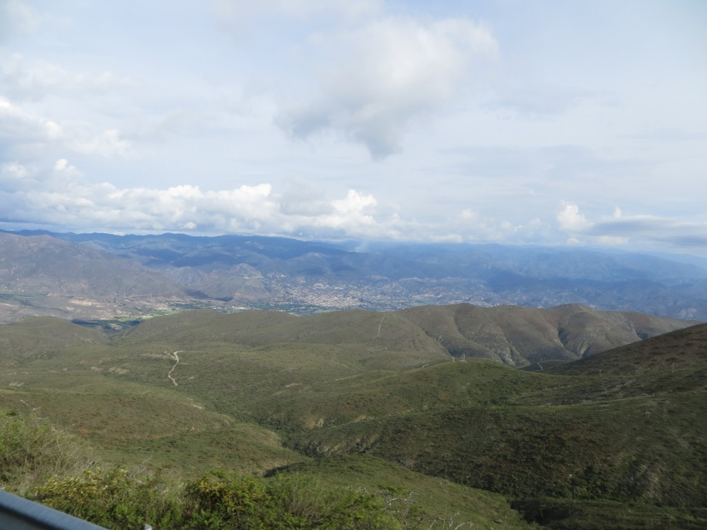 The desert valley of Catamayo.