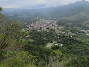 The town of Vilcabamba, Ecuador.