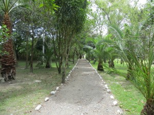 City park in Malacatos.