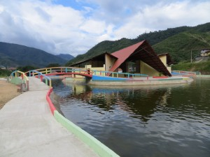 Malecon Bombuscaro Zamora Ecuador
