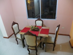 Apartment Dining Room