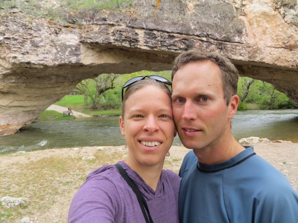 Ayres Natural Bridge Park Wyoming