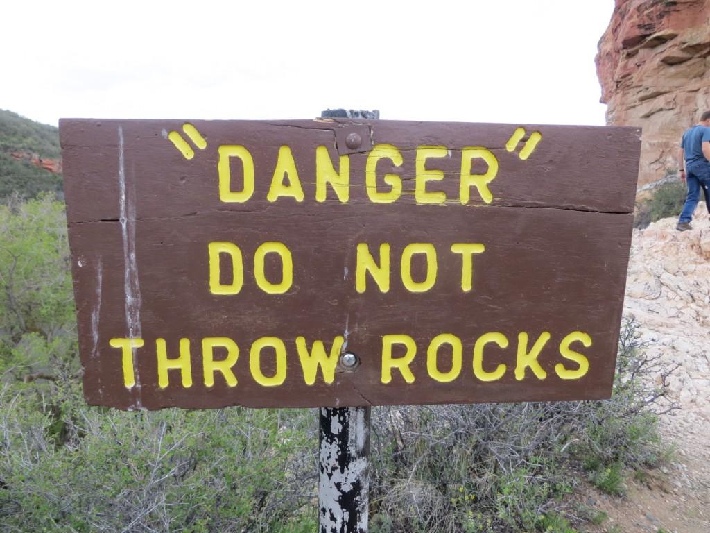 Sign at Natural Bridge Park