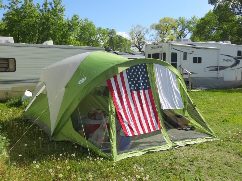 Memorial Day Tent