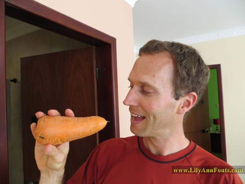 giant carrot from south america