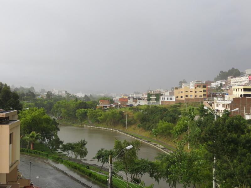 Rainstorm in Loja