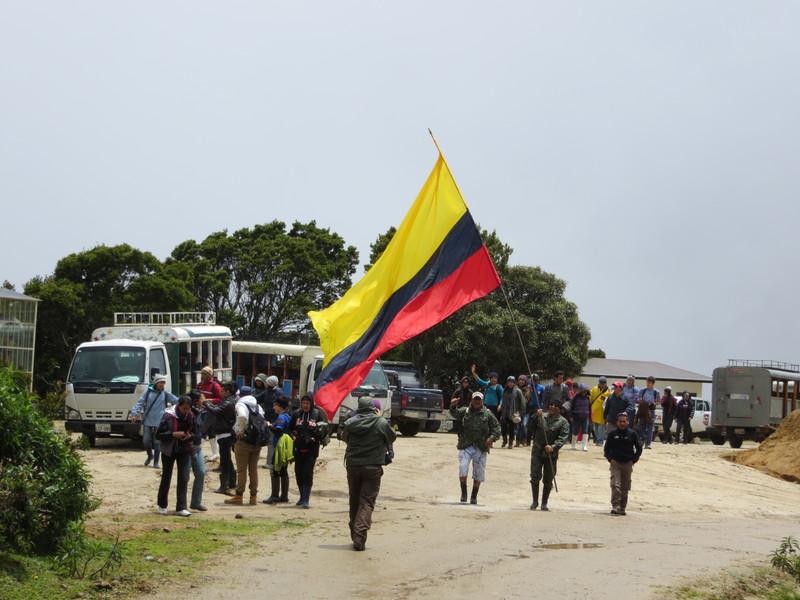 National Pride with Ecuadorian Flag