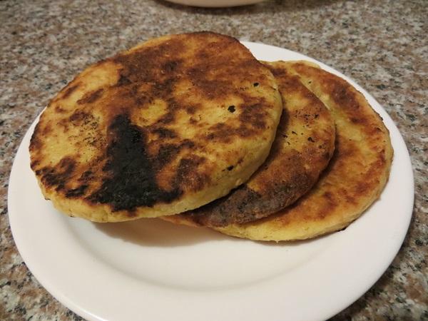 Ecuadorian tortillas