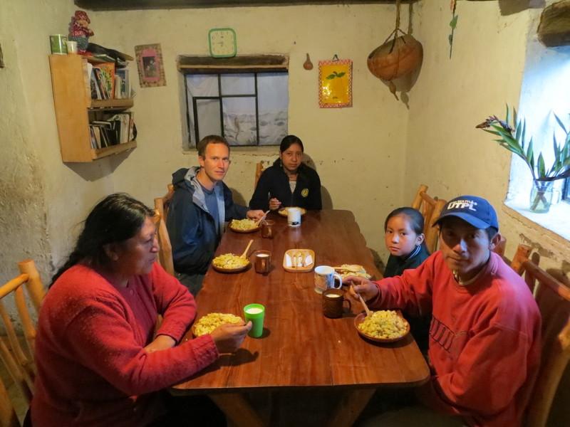 Saraguro breakfast