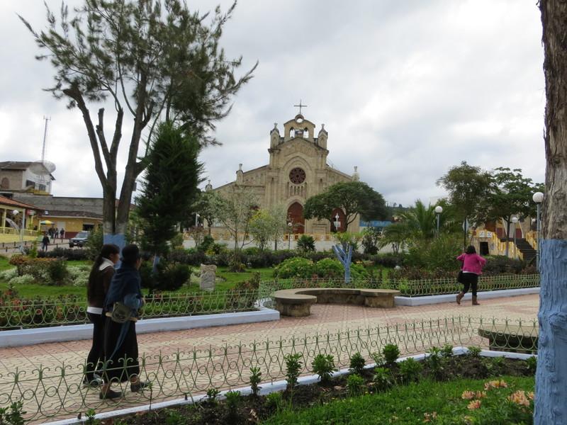 Saraguro plaza