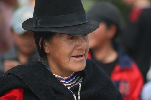 Saraguro woman