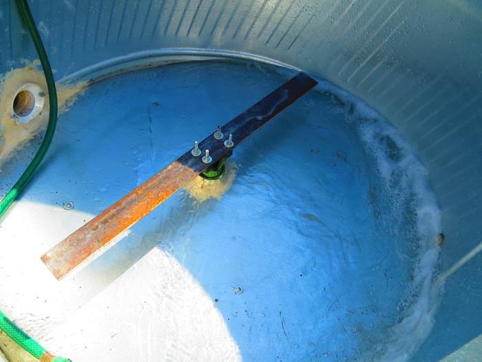 Papercrete Mixer Blade