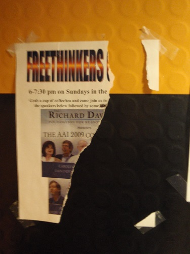 Torn Freethinkers Poster