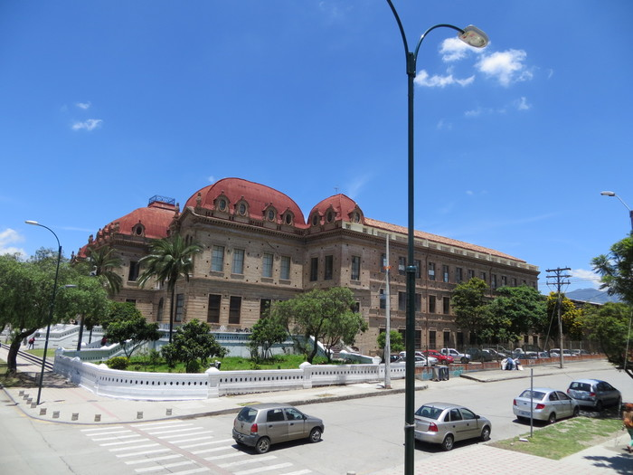 Buildings of Cuenca.