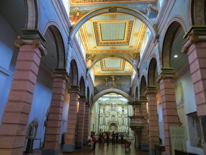 Inside the Cathedral/Museum of Religious Art.
