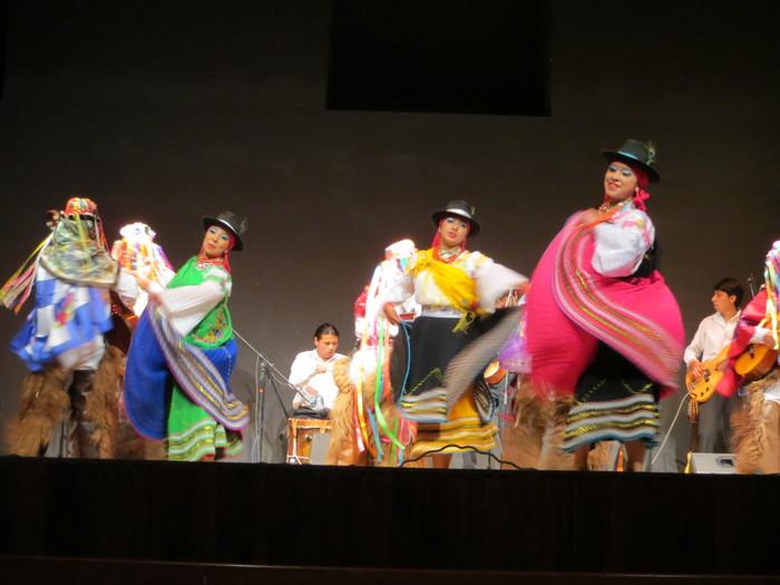 Traditional Ecuadorian Dances.