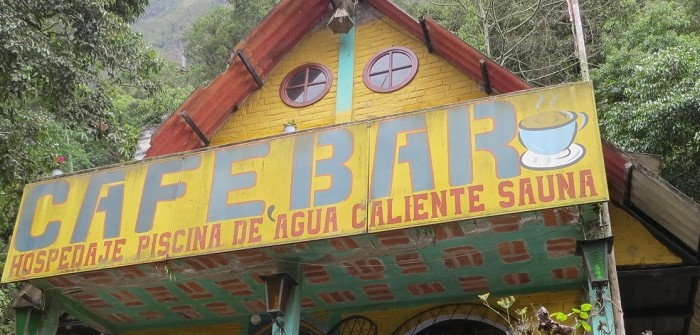 outskirts of baños ecuador