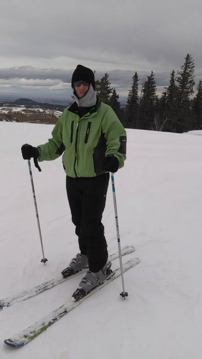 Keith Skiing at Terry Peak