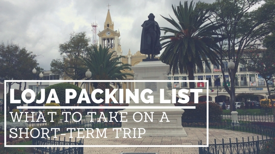 Loja Packing List